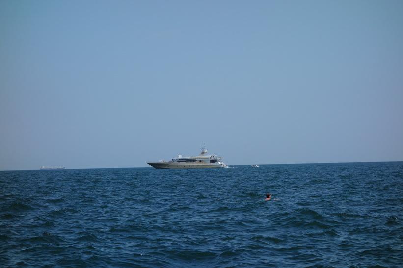 Är man oligark har man lätt råd med en sådan här båt, Odessa.