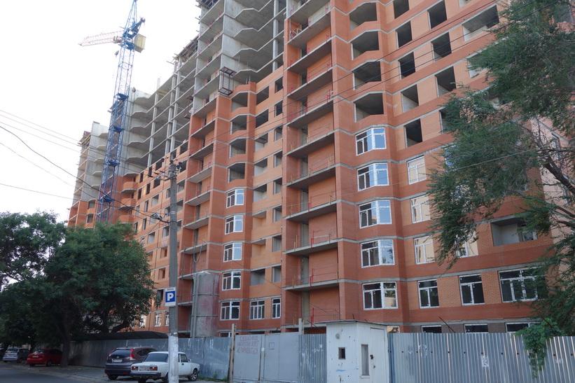 Nybyggnationer vid gammal bebyggelse, Odessa.