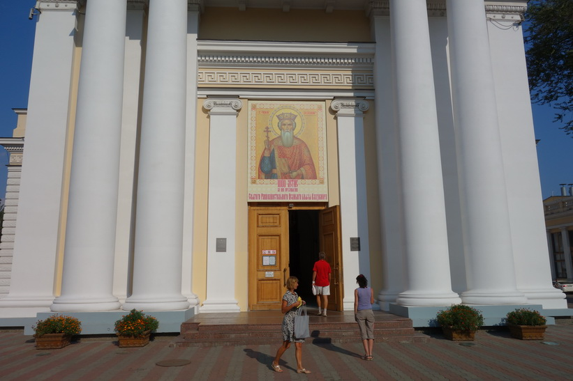 Ortodox kyrka i Odessa.