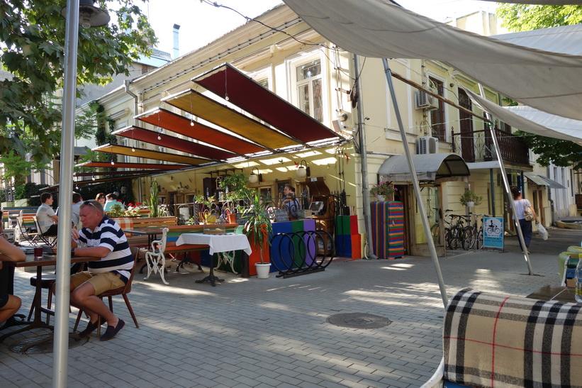 Ytterligare en måltid på Gogol-Mogol, Odessa.