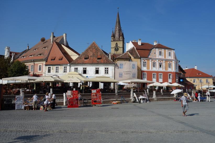 Piata Mica, Sibiu.