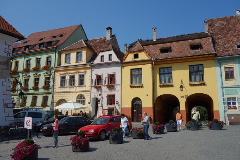 Sighișoara, Transsylvanien.