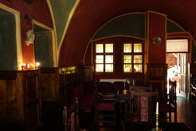 Casa Vlad Dracula, Sighișoara, Transsylvanien.