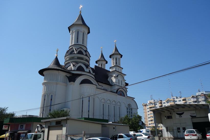 Kyrka i Suceava.