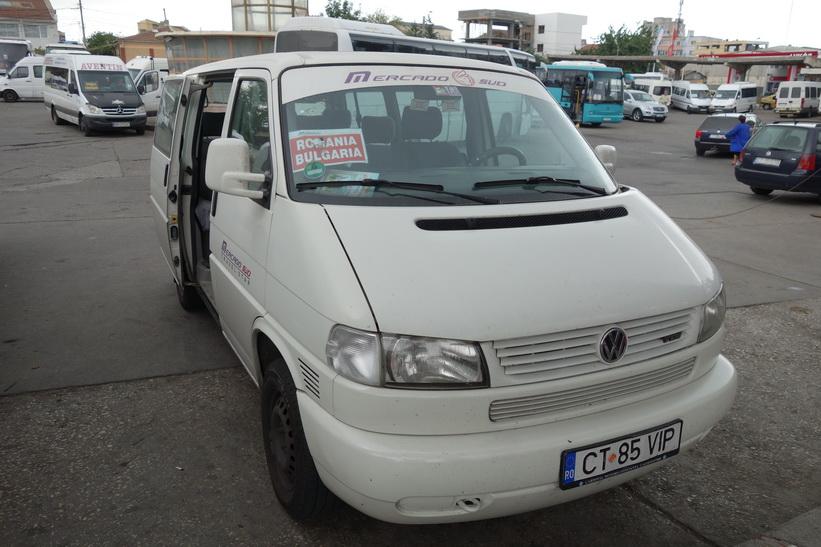 Effektiv transport mellan Rumänien och Bulgarien.