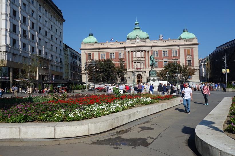 National museum, Republic Square, Belgrad.