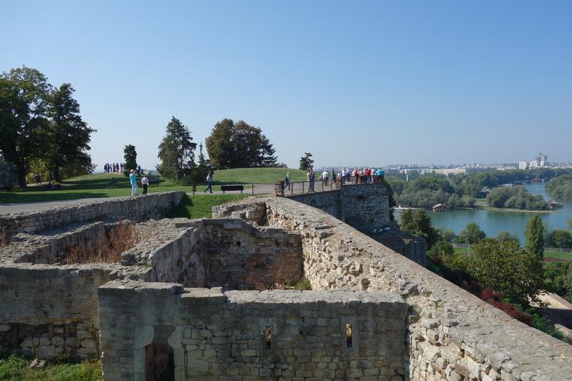 Fortet i Belgrad.
