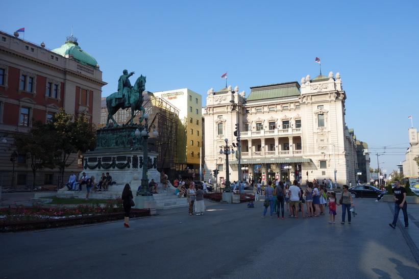 Nationalteatern, Republic Square, Belgrad.