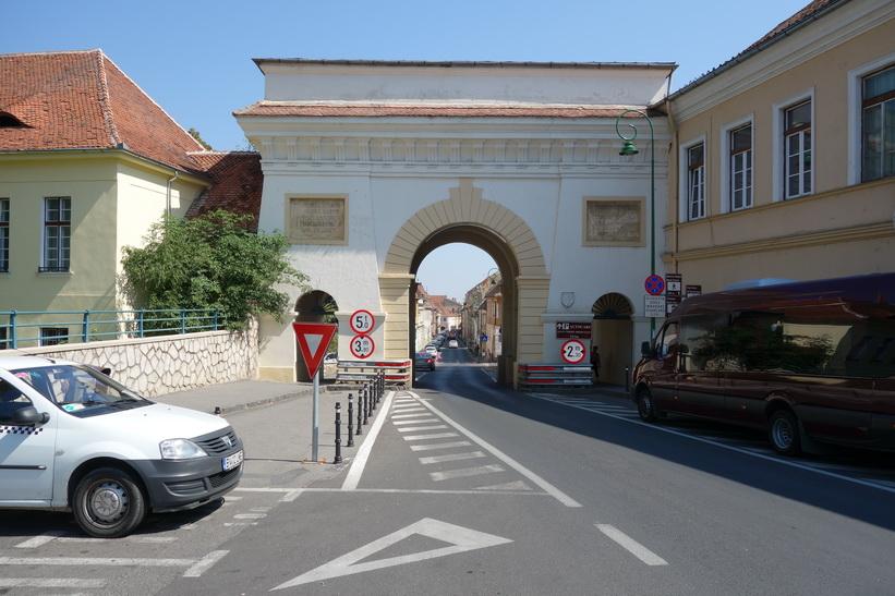 Schei gate, Brașov.