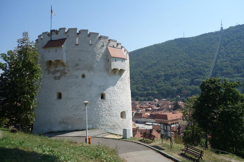 White tower, Brașov.