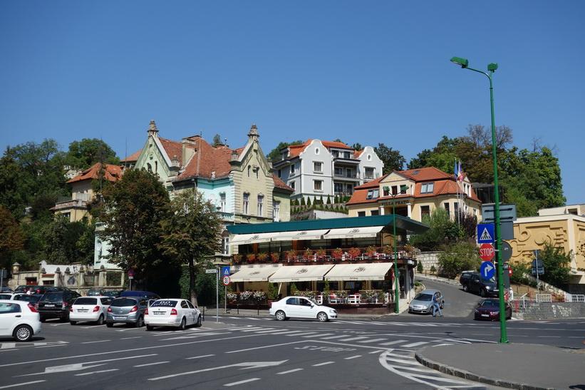 Arkitektur i centrala Brașov.