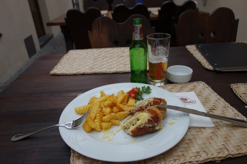 Lunch på Bella Muzica, Brașov.