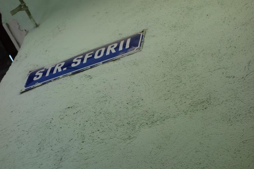 Sforii, namnet på europas smalaste gata, Brașov.