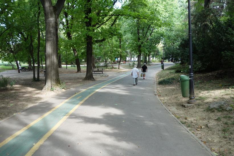 Herăstrău Park, Bukarest.
