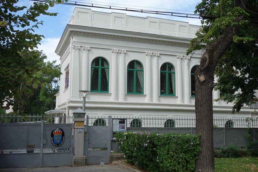 Svenska ambassaden, Șoseaua Kiseleff, Bukarest.