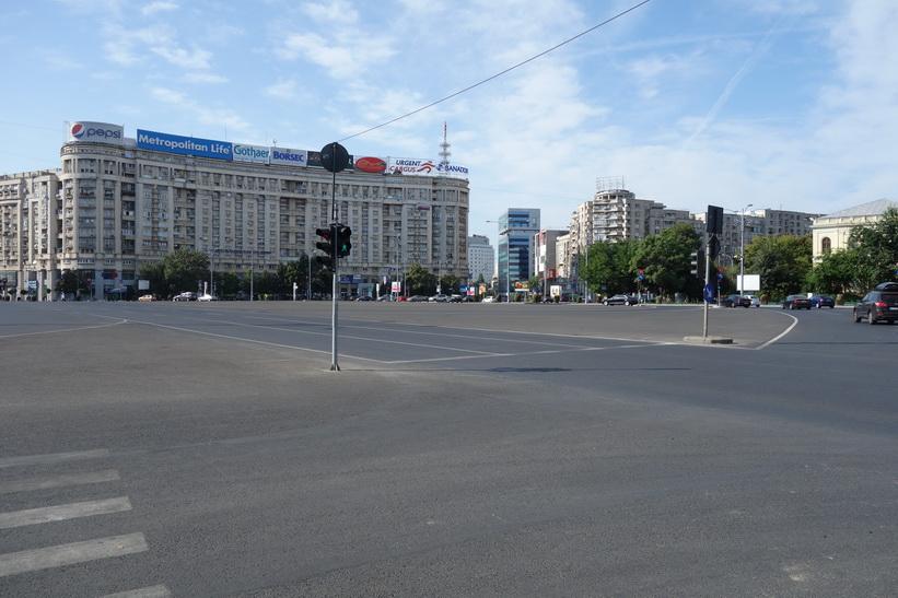 Piaţa Victoriei, Bukarest.