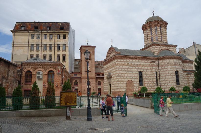 Biserica Ortodoxă Sfântul Antonie, gamla staden, Bukarest.