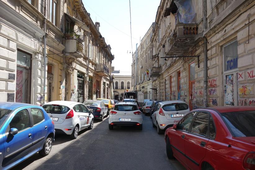 Gamla staden, Bukarest.