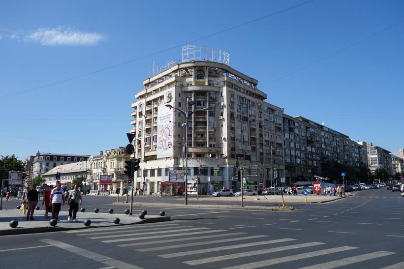 Del av Piața Unirii, Bukarest.
