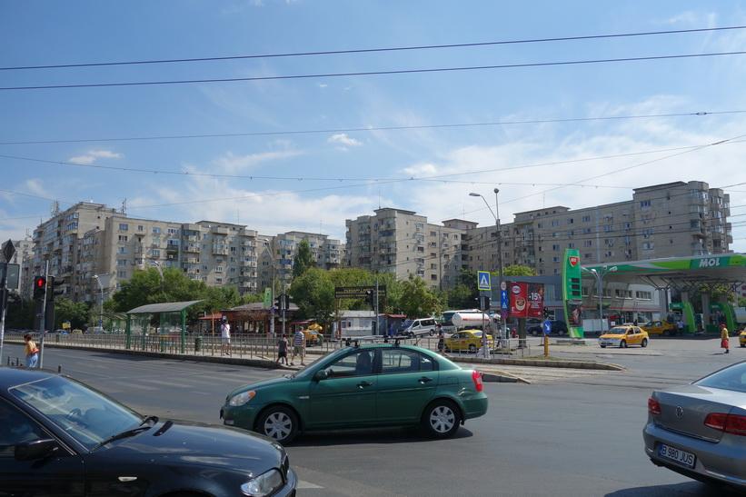 Kommunistbostäder i Bukarest.