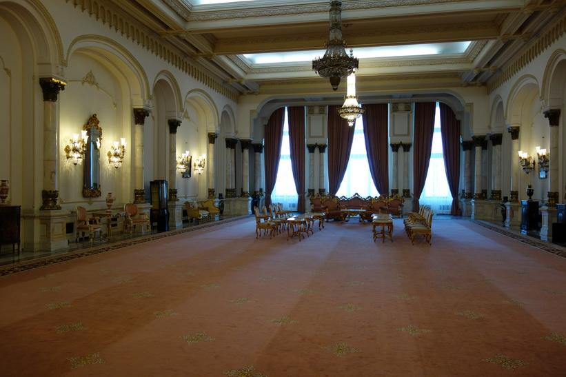 Sammanträdesrum, presidentpalatset, Bukarest.