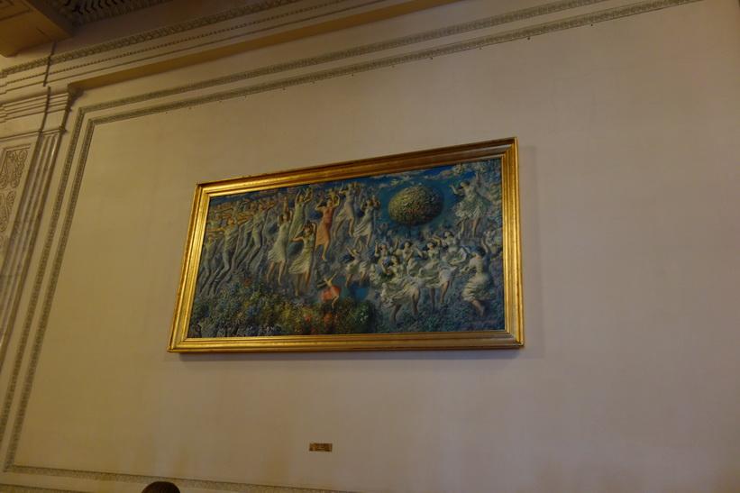 Konst i presidentpalatset, Bukarest.