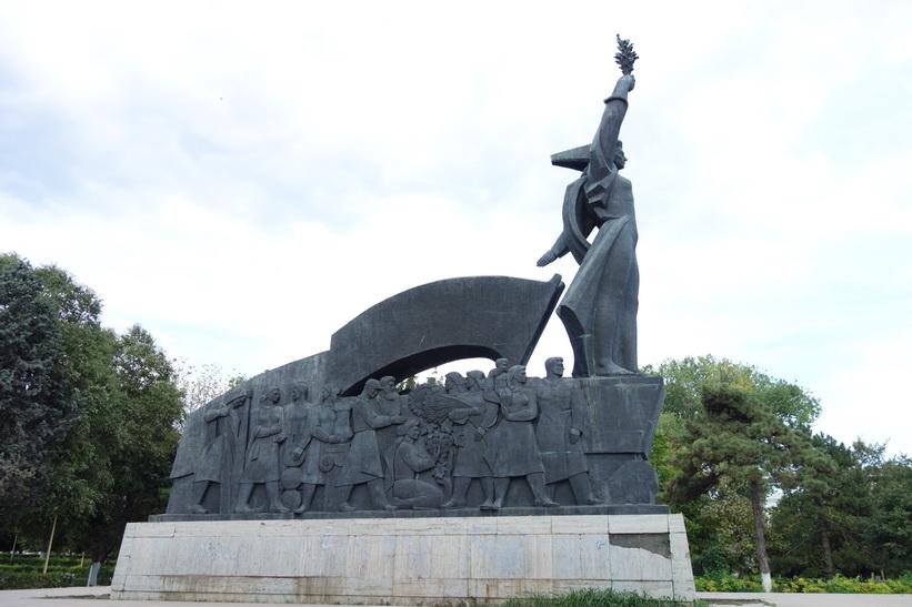 Victory monument, Constanţa.