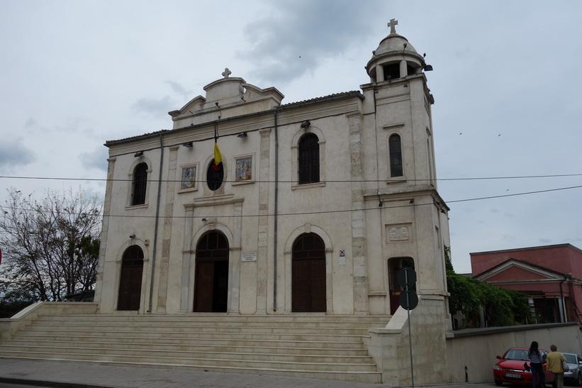 Kyrka i centrala Constanţa.