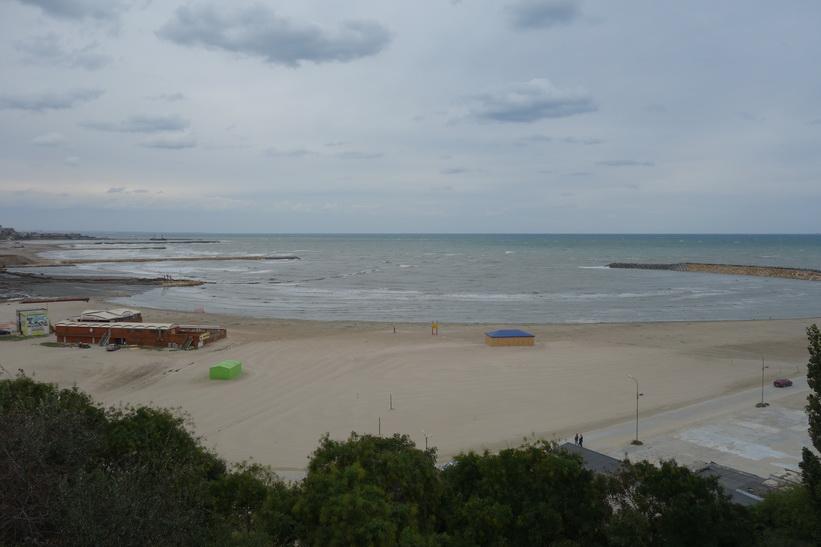 Constanţa beach, Constanţa.