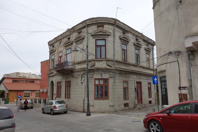 Byggnad i centrala Constanţa.