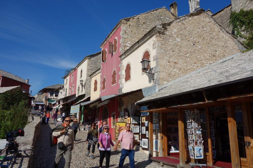Stari grad (gamla staden), Mostar.