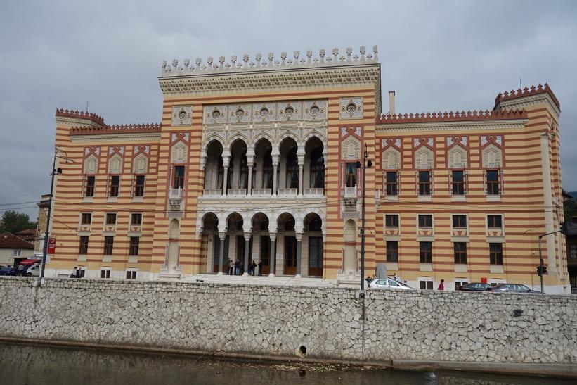 City Hall-National Library of B&H, Sarajevo.
