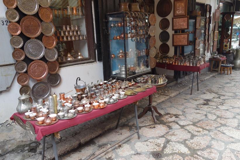 Gatsuscen i Baščaršija, Sarajevo.