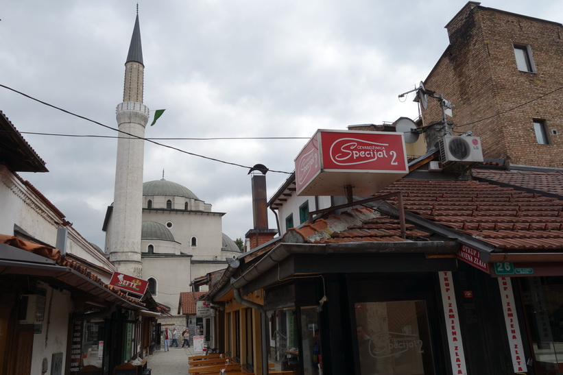 Ghazi Husrev-Bey's mosque i Baščaršija, Sarajevo.