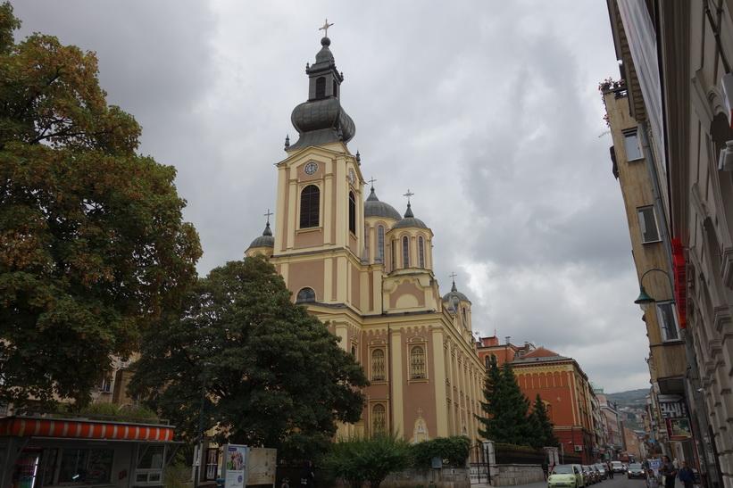 Synod orthodox church, Sarajevo.