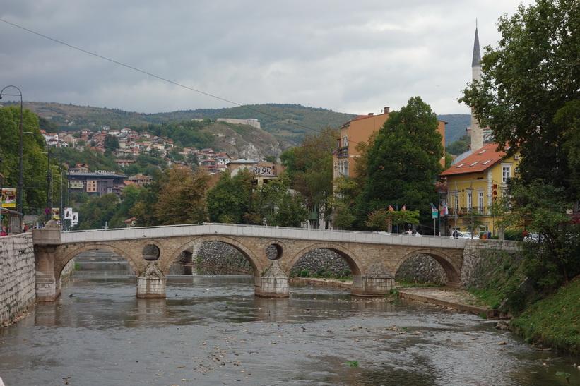 Latin bridge, Sarajevo.