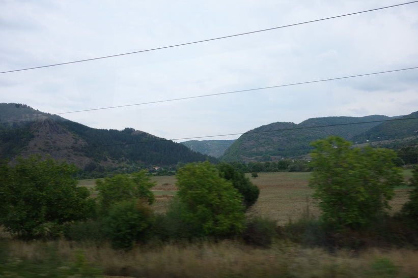 Naturen i Bulgarien en bit utanför Sofia.