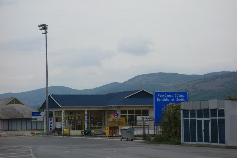 Vid gränsen mellan Bulgarien och Serbien.
