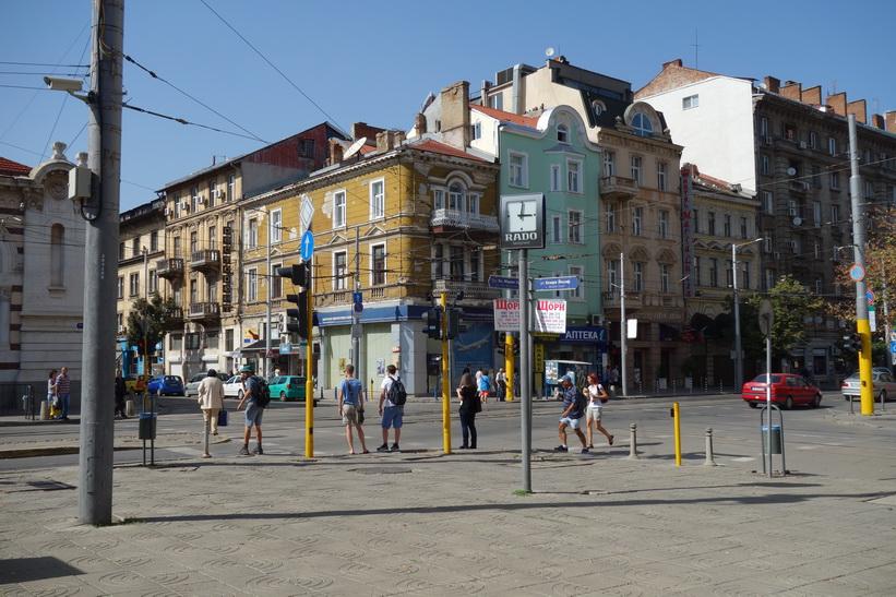 Arkitektur i centrala Sofia.