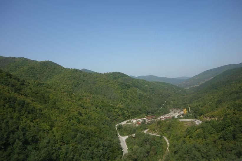 Den vackra naturen någonstans mellan Veliko Tărnovo och Sofia.