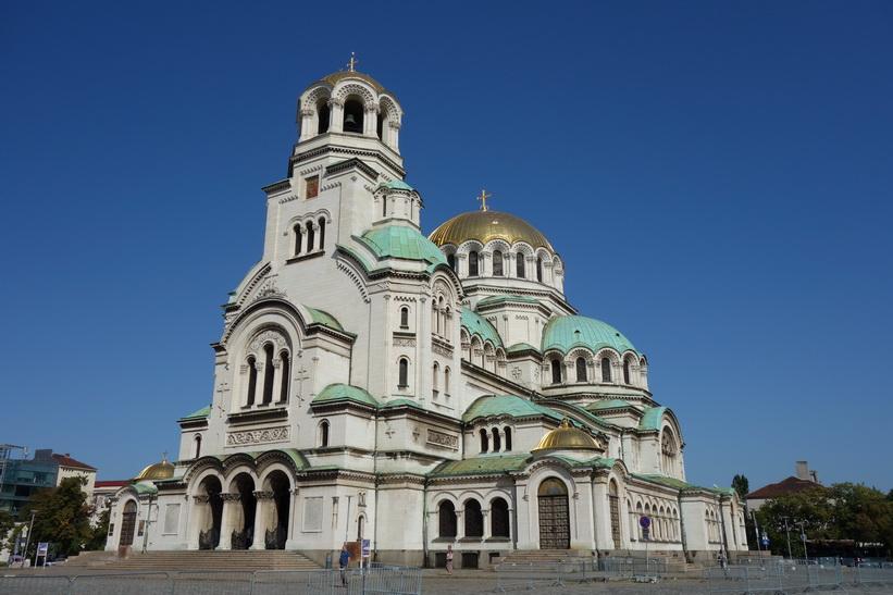 Vackra Aleksander Nevski Church, Sofia.