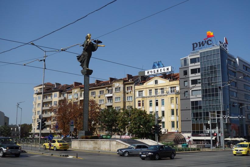 Statue of Sveta Sofia, Sofia.