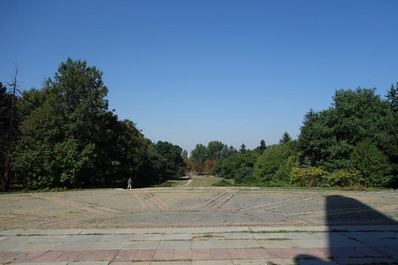 Parken Borisova Gradina, Sofia.