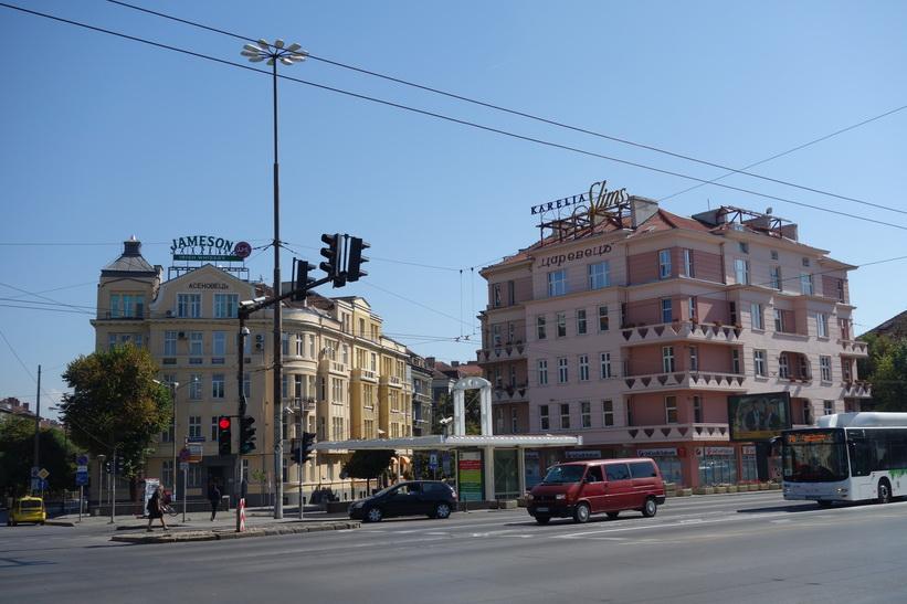 Whiskey verkar vara populärt i Sofia.