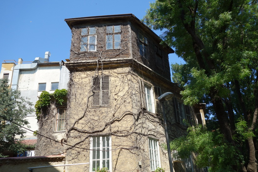 Arkitektur i centrala Varna.