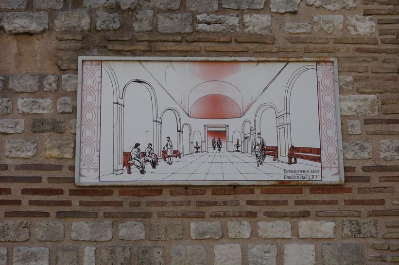 Romerska baden i Varna.