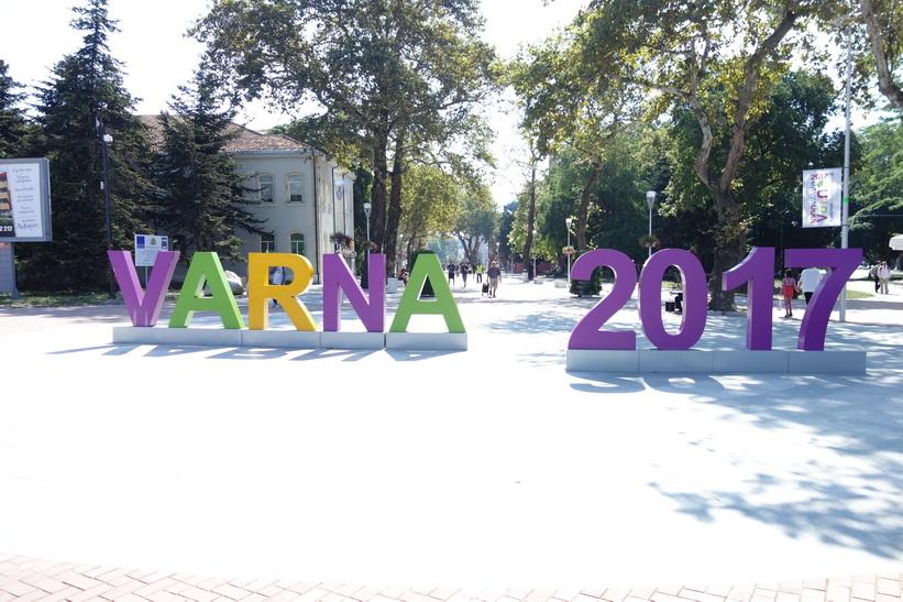 Varna har blivit utnämnd till European Youth Capital 2017.