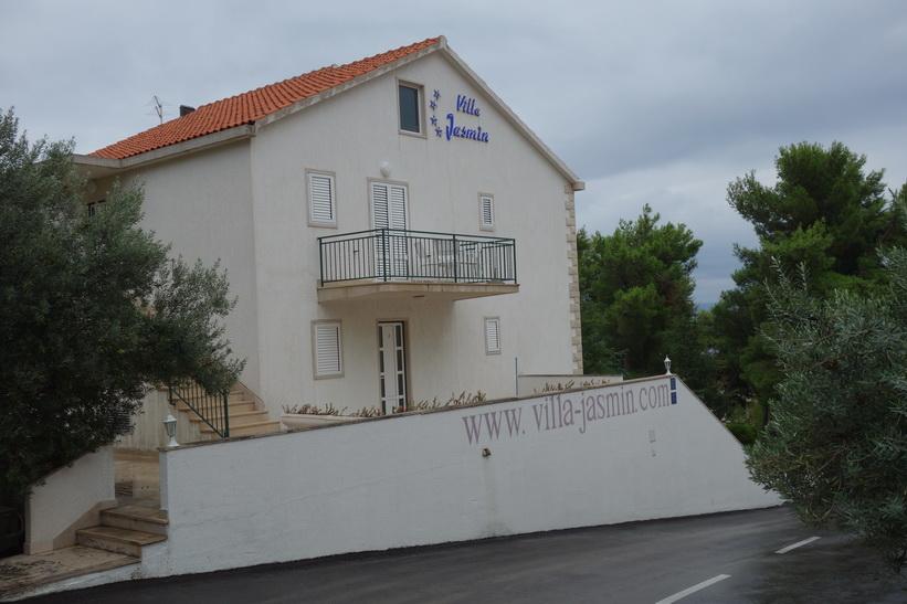 Tillbaka på Villa Jasmin i Bol.