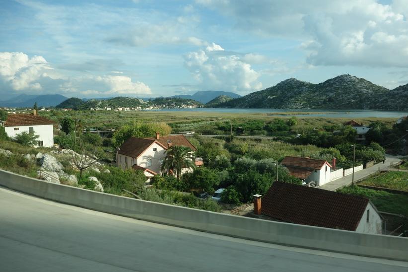 Vacker natur norr om Dubrovnik.