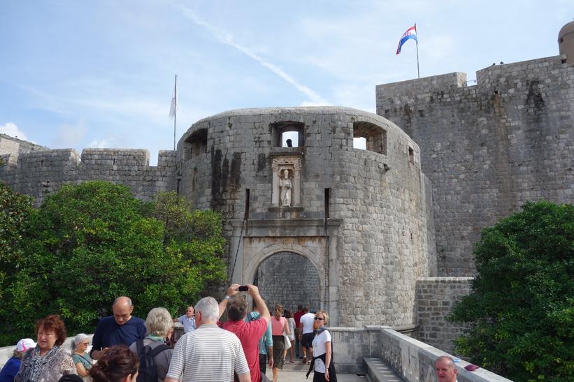 Pile Gate, gamla staden, Dubrovnik.